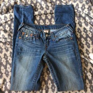 True Religion Old Multi Basic Skinny Jean
